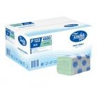 """Бумажные полотенца V 22.5x22.5см """"Tischa papier"""" зеленые, 200 шт*20уп (P122)"""