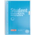 "Колледж-блок А4 Premium, 80л., клетка, синий ""Brunnen"" 10-679 28 133"