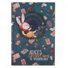 """Книга записная Alice В5, 80л, клетка  """"Axent"""" 8433-02-A"""