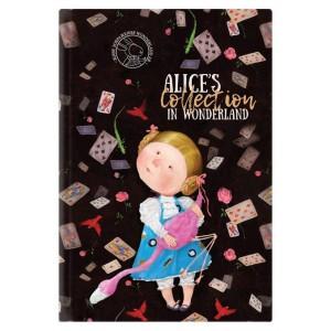 """Книга записная Alice В5, 80л, клетка  """"Axent"""" 8436-02-A"""