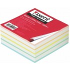 """Блок бумаги для заметок """"Elite MIX"""" 90х90x40мм, склеенный """"Axent"""" 8017-А"""