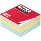 """Блок бумаги для заметок """"Elite Color"""" 90х90x40мм, склеенный """"Axent"""" 8027-A"""