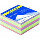 """Блок бумаги для заметок """"Декор"""" 80х80х30мм, склеенный """"BuroMAX"""" ВМ.2272"""