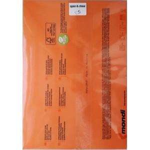 Бумага цветная 80 г/м2, А4  оранжевая «Mondi Color» OR43