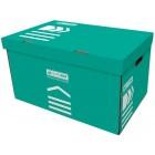 """Короб для архивных боксов, бирюзовый  """"BuroMax"""" BM.3270-06"""