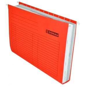 """Подвесной файл А4, картон, красный А4 """"Donau"""" 7410905-04"""