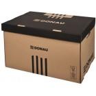 """Короб для архивных боксов TOP """"Donau"""" 7665301PL-02 коричневый"""