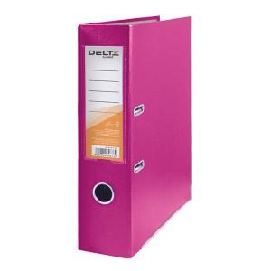 """Регистратор А4 с односторонним покрытием, 7.5cм, розовый """"DELTA"""" D1714-05C"""