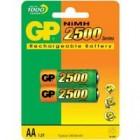 Аккумулятор GP AA 250AAНC 2500 mAh / 1,2V NiMH (HR6) 09011
