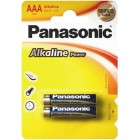Батарейка Panasonic AAA ALKALINE POWER 1,5V (LR03REB/2BP), на блистере по 2 штуки