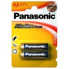 Батарейка Panasonic AA ALKALINE POWER 1,5V (LR6REB/2BP), на блистере по 2 штуки
