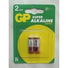 Батарейка GP 910A-2UE2 alkaline 1,5V (N, LR1), на блистере по 2 штуки