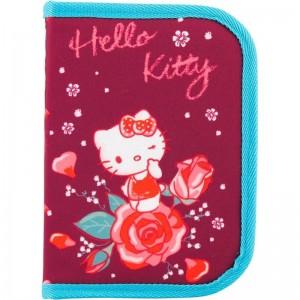 "Пенал 1 отдел., 1 отв., без наполн. Hello Kitty ""KITE"" HK18-621-2"