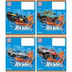 "Тетрадь  12л клетка, Hot Wheels ""Kite""  HW19-232"