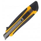 """Нож универсальный, лезвие 18мм, мет. направляющие, рез.вставки """"BuroMAX"""" BM.4616"""