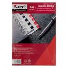 """Обложка картонная """"под кожу"""" А4, красная, 250г/м2, 50 шт """"Axent"""" 2730-06-A"""