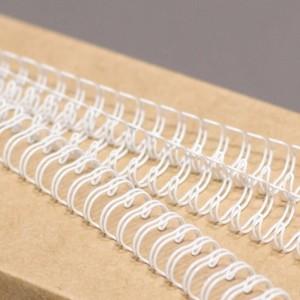 """Металлические пружины 3/16"""", диаметр 4.8 мм, шаг 3:1, белые """"wireMARK"""" 47201"""
