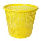 """Корзина для бумаг 8л, желтая """"ZiBi"""" ZB.3040-08"""