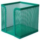 "Бокс для бумаги 100х100х100мм, зеленый ""BuroMAX"" BM.6215-04"