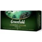 Greenfield, 25 шт., чай зеленый, Jasmine Dream (106129)