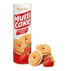 Roshen печенье  Multicake Strawberry Cream 195 г р (15712)
