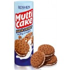 Roshen крекер  Multiсake Fun & Crispy С Молочно-кремовой начинкой 135 гр (15224)