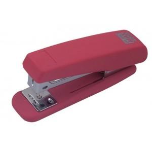 "Степлер RUBBER TOUCH пласт., №24/6, 20л, розовый ""BuroMAX"" BM.4205-10"