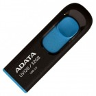 "Flash-память 32GB USB 3.0 UV128 - black/blue ""ADATA"" AUV128-32G-RBE"