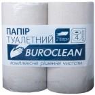 """Туалетная бумага 2-х слойная, 4 рулона, серая """"Buroclean"""" 10100052"""