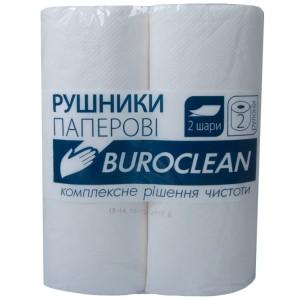 """Бумажные полотенца 2-х слойные , 2 рулона """"Buroclean"""" 10100400"""