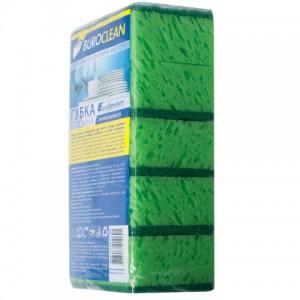 BuroClean губки кухонные, крупнопористые EuroStandart 10х7см, 5шт 10200220