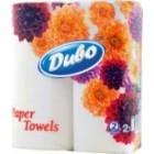"""Бумажные полотенца 2-х слойные , 2 рулона """"ДИВО"""" 51864"""