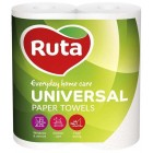 "Бумажные полотенца 2-х слойные , 2 рулона Universal ""Ruta"" rt.40730"