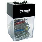 """Пластиковый бокс для скрепок с магнитом """"Axent"""" 4120-А"""